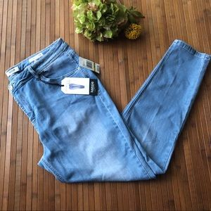 Kensie Blue Denim Skinny Jeans Size 14